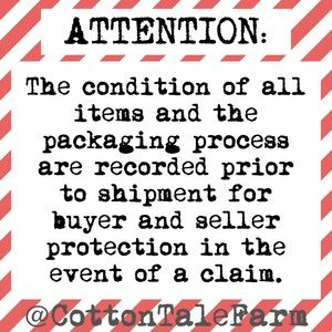 Attention: all orders are recorded